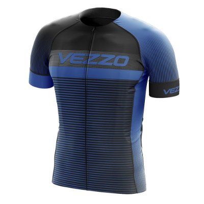 Camisa Masculina VEZZO STORM - Pro Cycle Azul