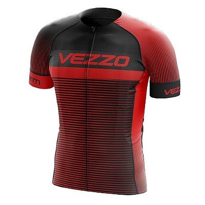 Camisa Masculina VEZZO STORM - Pro Cycle Vermelha