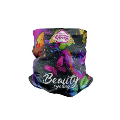 Bandana Multihead Beauty Butterfly Black