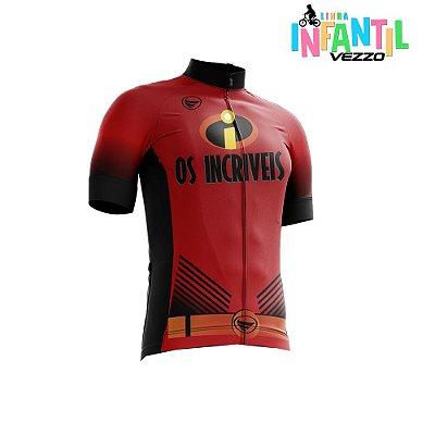 Camisa Ciclotour Infantil Menino Vezzo Os Incríveis