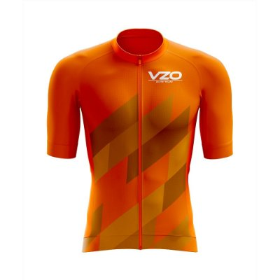 Camisa Race Aero - Vezzo Guide Orange