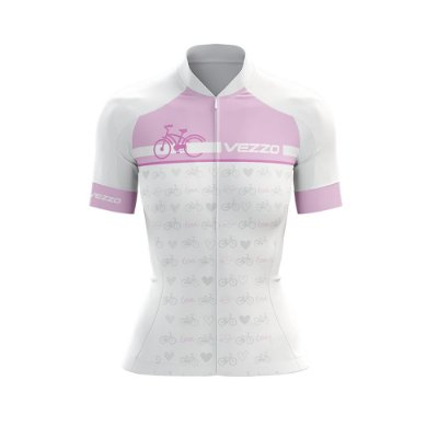 Camisa Ciclotour Feminina Vezzo Motivation