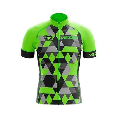 Camisa Ciclotour Masculina Vezzo Adamant Green