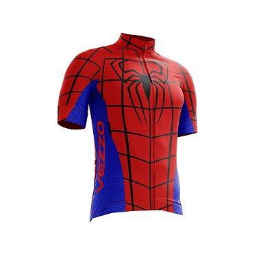 Camisa Ciclotour Infantil Menino Vezzo Homem Aranha