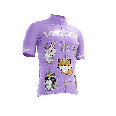 Camisa Ciclotour Infantil Menina Vezzo Cuddly