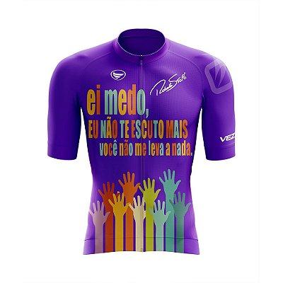 Camisa Elite Unissex Vezzo / Roberta Stopa Roxa