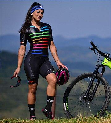 Macaquinho Ciclismo Vezzo VIVID