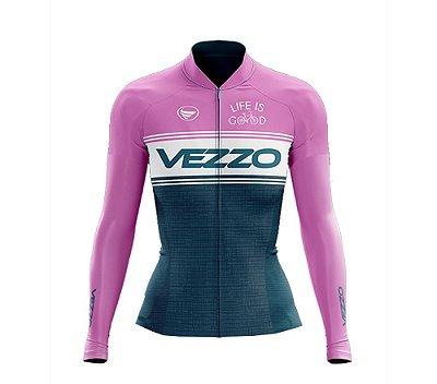 Camisa Ciclotour Feminina Vezzo GIRO