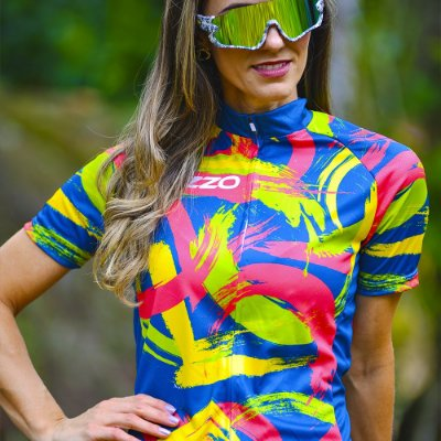 Camisa Ciclotour Feminina Vezzo DAVINCI
