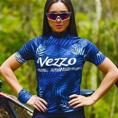 Camisa Ciclotour Feminina Vezzo TROPICAL