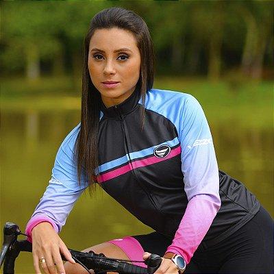 Camisa Ciclotour Feminina Vezzo Journey