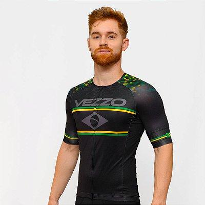Camisa Vezzo Elite Brasil Black