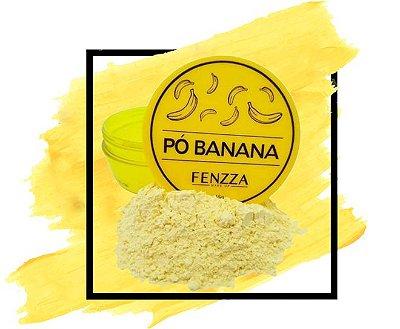Po Banana Fixador Translucido Finalizador Fenzza Maquiagem