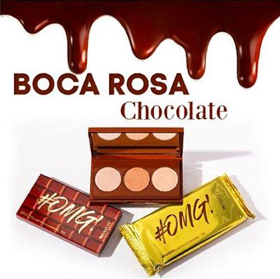 Paleta de Iluminadores Boca Rosa Beauty By Payot #OMG