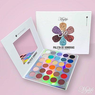 paleta de sombras 30 cores