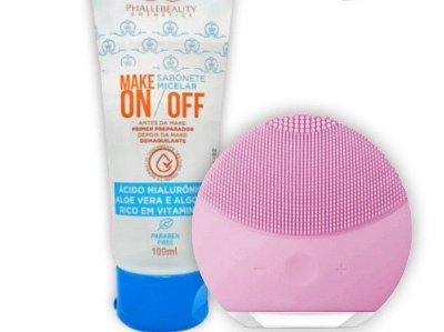 Combo SkinCare Foreo + Sabonete Make On Off