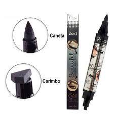 Carimbo Delineador Tango Beautiful Olho De Gatinho 2 Em 1