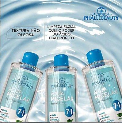 Água Micelar Ácido Hialurônico 7 em 1