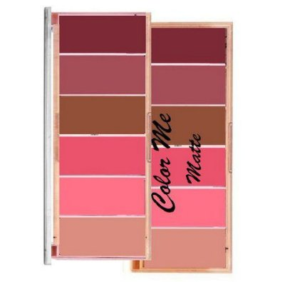 Paleta de Blush Matte 6 Tons Color me
