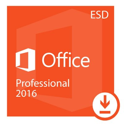 Office Professional plus 2016 ESD- Digital Download