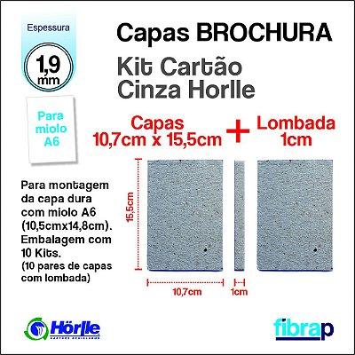 Kit Montagem Brochura A6 lombada 1cm, MP Mimos Personalizados
