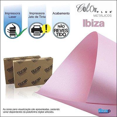 Color Plus Metálico Ibiza,  pacote 100fls.
