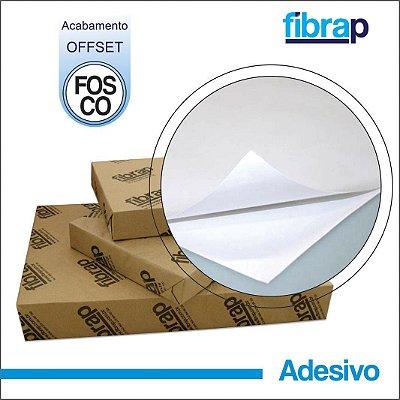 Adesivo Fosco / Offset 180g/m2 , pacote 100fls.