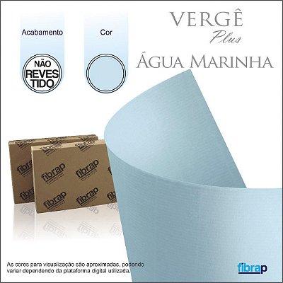 Vergê Água Marinha,  pacote 100fls.