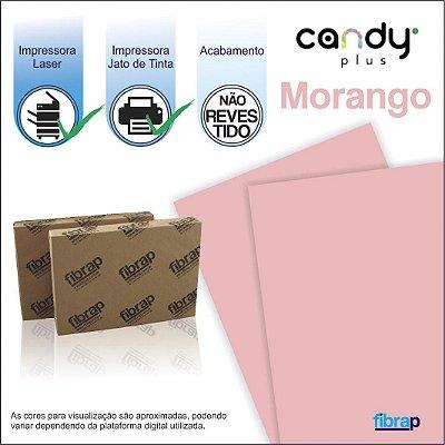 Candy Plus Morango,  pacote 100fls.