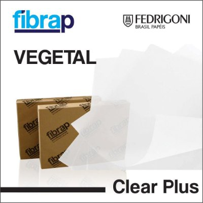 Vegetal Clear Plus,  pacote 100fls.