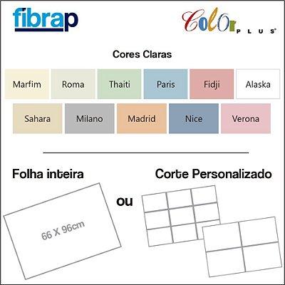 Color Plus Cores Claras, 66x96cm ou cortes Personalizados.
