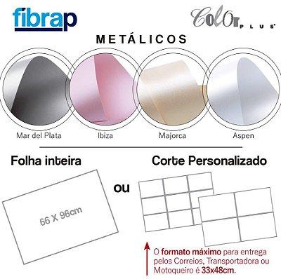 Color Plus Metálico, 66x96cm ou cortes Personalizados.