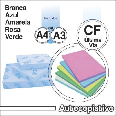 Autocopiativo CF , 250fls.