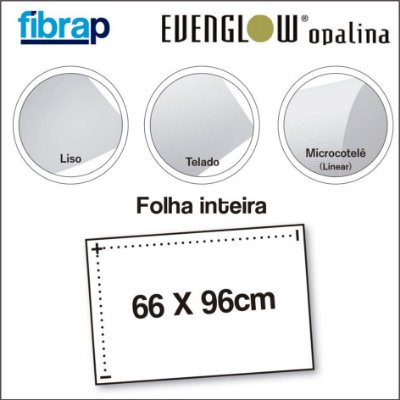 Evenglow Opalina Diamond, Folha Inteira 66x96.