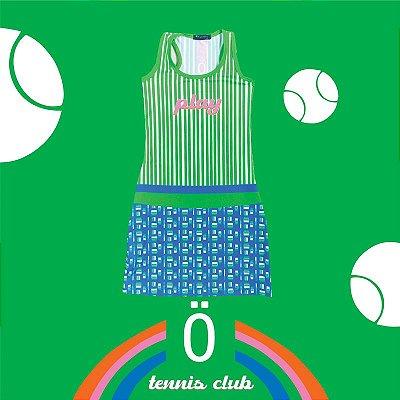 vestido  de TENNIS | nadador | .  estampa PLAY . OTA .