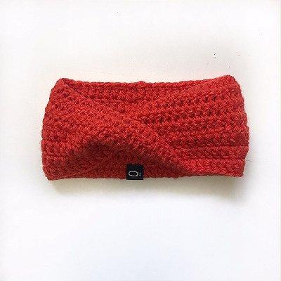 Gola de lã para bebê . laranja