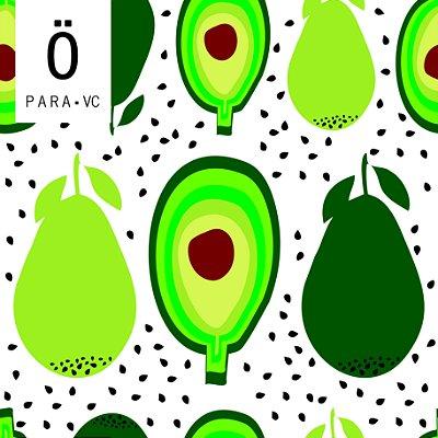 Avental Abacate WHT . ÖTA • PARA • VC