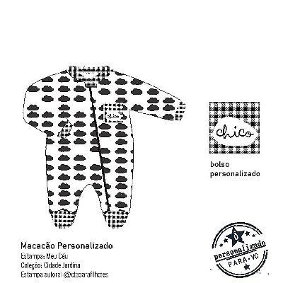 macacão para bebê personalizado . MEU CÉU. ÖTA • PARA • VC