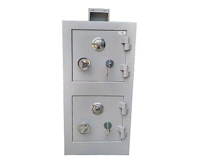 Cofre Concretado - CD80 - Alçapão - Mecânico - (Cofre Duplo)