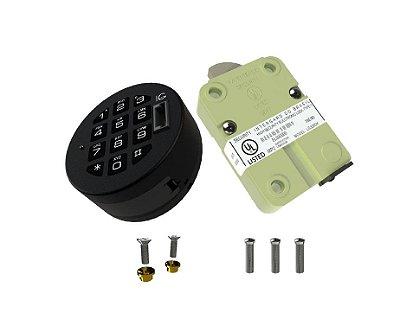 Fechadura Eletrônica Digital - Combogard 39E/80 - ABS - Auditoria