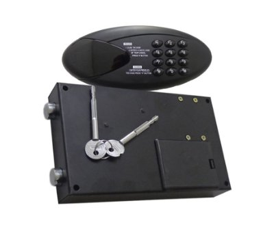 Fechadura Eletrônica Digital - BH - Preta