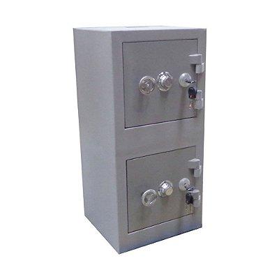 Cofre Mecânico Concretado - CD80  Duplo