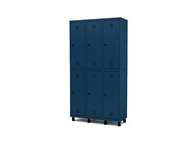 Roupeiro De Aço 6 Portas - GRP/GRF 503-6