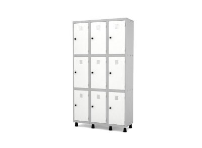 Roupeiro De Aço 9 Portas  - GRPGRF 503-9