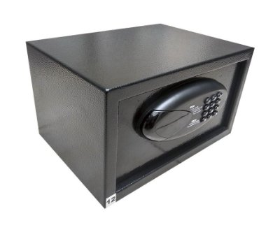 Cofre Eletrônico Digital - BH D20 - Preto