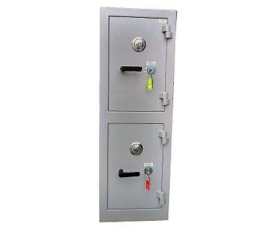 Cofre de Alta Segurança - Fort 120 - Segredo Mecânico - Coletor - Duplo