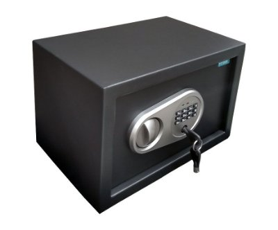 Cofre Eletrônico Digital - CD 31 20 - EL - Preto - Fosco