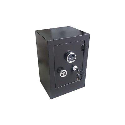 Cofre Concretado - C60 Biométrico - Preto - GS03