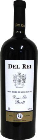 Del Rei - Vinho Tinto de mesa Bordo Demisec 1L