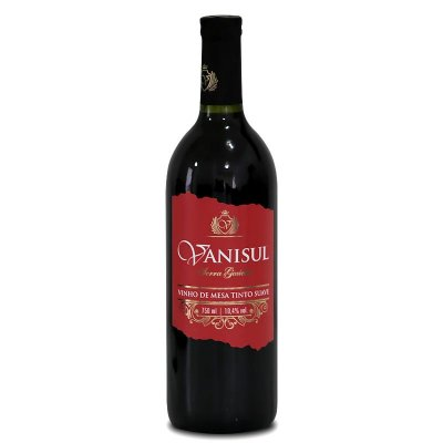 Vanisul - Vinho de Mesa Tinto Suave  750ml
